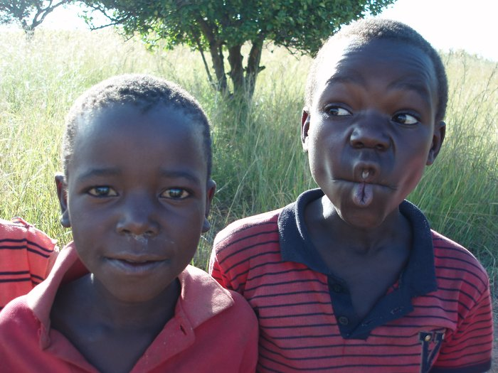 Funny Faces from the Zambian Boys | Travel Studies 2009
